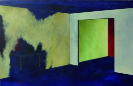 Acrylique et huile sur toile, 2011, 65 x 92 cm