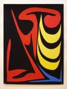Gouache sur papier, 63 x 48 cm, 1955