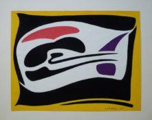 Gouache sur papier, 33 x 49 cm, 1958