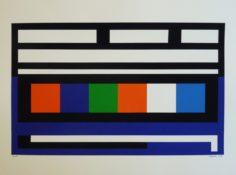 Gouache sur papier, 40 x 66 cm, 1963