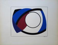 Gouache sur papier, 40 x 32 cm, 1963