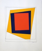Gouache et encre sur papier, 39 x 29 cm, 1963
