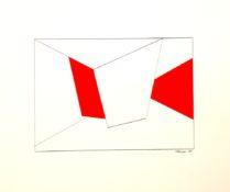 Gouache et encre sur papier, 19 x 27 cm, 1965