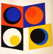 Gouache sur carton, 20 x 20 cm, 1968