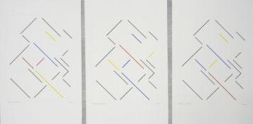 Gouache sur papier, 46 x 36 cm (x3), 1993