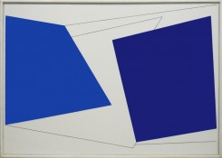 Huile sur toile, 65 x 92 cm, 1965