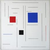 Acrylique sur toile, 40 x 40 cm, 2003