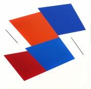 Acrylique sur toile, 60 x 60 cm, 1992