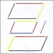 Acrylique sur toile, 100 x 100 cm, 1992