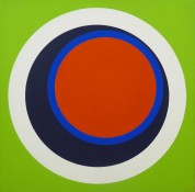 Acrylique sur toile, 86 x 86 cm, 1970