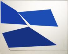 Huile sur toile, 162 x 130 cm, 1965
