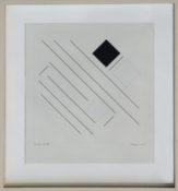 Gouache sur papier encadrée, 37,5 x 35 cm, 2003