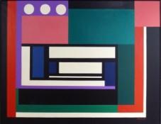 Huile sur toile, 89 x 116 cm, 1960