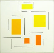 Acrylique sur toile, 80 x 80 cm, 2003