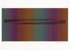 Sérigraphie sur papier n°62/90, 44,5 x 57,5 cm encadré, 2008