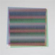 Sérigraphie n° 8/15, Editions Fanal,  40 x 40 cm encadré, 2012