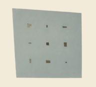 Acrylique sur contre-plaqué, 21 x 21 cm, 1991