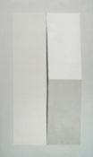 Acrylique et poudre de marbre sur contre-plaqué, 96 x 56,5 cm, 1993