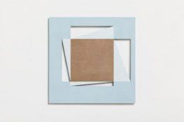 Acrylique et poudre de marbre sur contre-plaqué, 20 x 20 cm, 1996