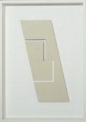 Relief acrylique sur bois, 29,8 x 15,3 cm, 2004