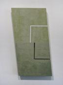 Acrylique et poudre de marbre sur contre-plaqué, 79,5 x 49,7 cm, 1999