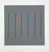Sérigraphie n°17/57, Editions Fanal, 67 x 62 cm encadrée, 2014