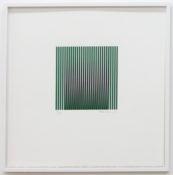 Sérigraphie 2 couleurs n°16/45, 45 x 45 cm encadré, 1963-2001