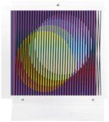 Sérigraphie sur plexiglas n°48/99, 40x 35 cm, 1963-2014