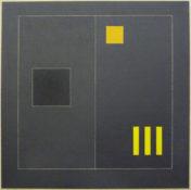 Acrylique sur toile, 60 x 60 cm, 1991