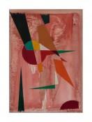 Aquarelle sur papier,  54 x 48 cm, 1956