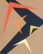 Gouache sur papier, 42 x 37 cm, 1956