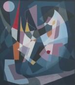 Gouache sur papier, 47 x 42 cm, 1959