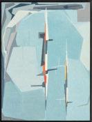 Huile sur toile, 120 x 93 cm encadrée, 1959