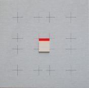 Acrylique sur toile et bois, 50 x 50 cm, 2007