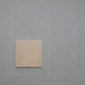Acrylique sur toile et bois, 60 x 60 cm, 2004