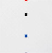 Acrylique sur toile et bois, 100 x 100 cm, 2014
