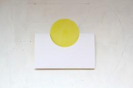 Craie grasse sur papier, 50 x 42 cm, 2014