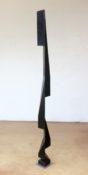 Bois teinté noir, 207 x 12 x 12 cm, 1984