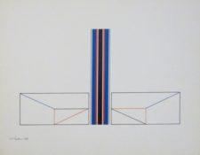 Acrylique sur papier, 29 x 38,5 cm, 1984
