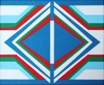 Acrylique sur toile, 22 x 27 cm, 1972