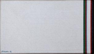 Acrylique sur toile, 10 x 18 cm, 1976