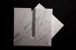 Marbre de Carrare, 53 x 40 x 13 cm, 2015