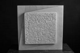 Marbre de Carrare, 35 x 35 x 14 cm, 2015