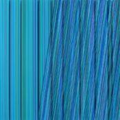 Peinture, encre, laque sur polycarbonate, 70 x 70 cm, 2014