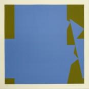 Sérigraphie n°30/50, 56 x 56 cm, 1993