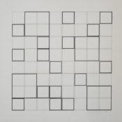 Acrylique sur papier, 45 x 45 cm, 2004