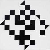 Huile sur toile, 80 x 80 cm, 2011