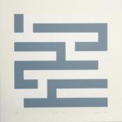 Sérigraphie n°4/33, 39,5 x 39,5 cm, 1998