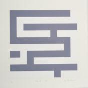 Sérigraphie n°13/33, 39,5 x 39,5 cm, 1998