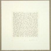 Gravure sur papier n°1/15, 37,5 x 35,5 cm, 2009